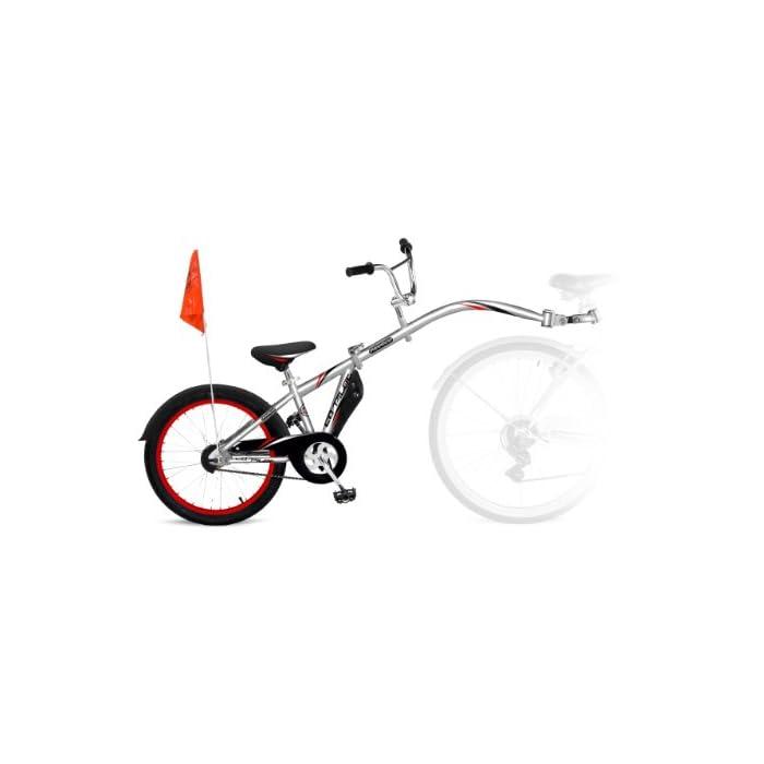 Weeride Kids Co – Remolque de Bicicleta Infantil