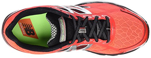 New Balance M_w880v5, Men's Running Shoes Red (Red/Silver/Yellow)