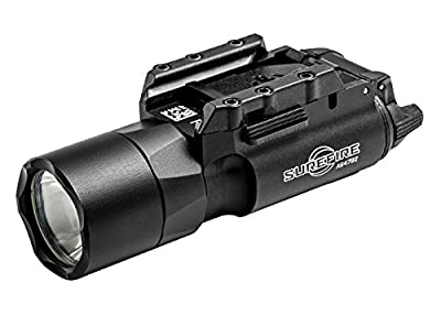 SureFire X300U-A Ultra High Output 600 Lumens LED Weapon Light with 12 Extra CR123A and 3 Alliance Gadget Battery Case