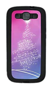 Samsung Galaxy S3 I9300 Cases & Covers Christmas Lights Tree Custom TPU Soft Case Cover Protector for Samsung Galaxy S3 I9300 Black