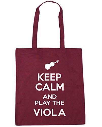 Viola and HippoWarehouse the Play x38cm Keep litres Burgundy Shopping Tote 10 Gym Bag Calm 42cm Beach EqqCwXnpr