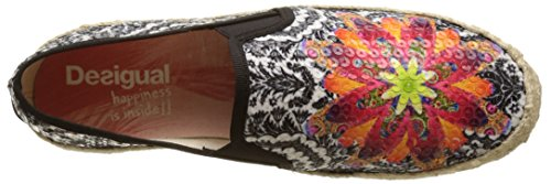 2000 Save Taormina The Noir Femme Queen Chaussons Desigual Black qHZwp8np