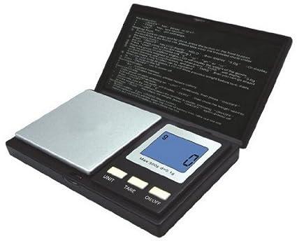 Kabalo - 500g x 0,1 g Mini escala digital de bolsillo Gram Joyería,
