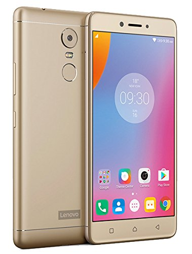 Lenovo K6 Note 4G LTE Octa Core Fingerprint 32GB 16MP 3GB Ram Dual Sim International Version (Gold)