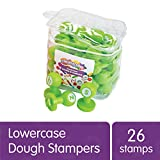 Colorations Alphabet Dough Stampers Set, Lowercase