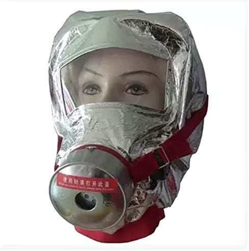 Wanjia Helm, Fire Escape Hood Escape Travel Kit Tragbares Fire Survival Pack für Büro, Einkaufszentrum