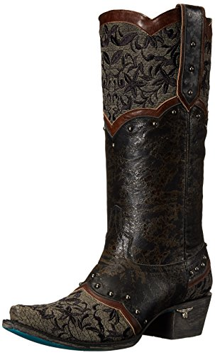 femmes Bottes Boot Lane pour Black Western Kimmie 88nE4wRp