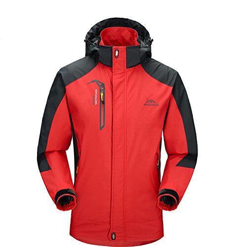 Waterproof Jacket Raincoat Men Sportswear-GIVBRO 2017 New Design Outdoor Hooded Softshell Jackets
