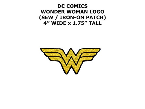 Diy Wonder Woman Costumes (DC Comics Wonder Woman Super Hero DIY Embroidered Sew or Iron-on Applique Patch Outlander Gear)