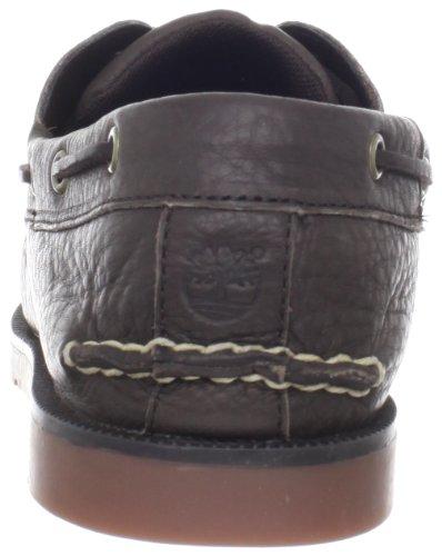 Chaussure De Bateau Classique Timberland Hommes Marron Foncé