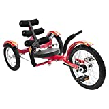 Mobo Mobito- La Mejor Bicicleta de Tres Ruedas (Joven), Rojo, NO Talla