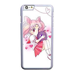 Generic Fashion Hard Back Case Cover Fit for iPhone 6 6S plus 5.5 inch Cell Phone Case white Sailor Moon SEU-4111647