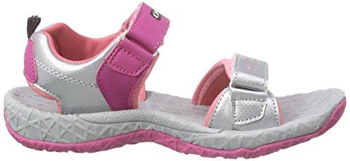 ICEPEAK Wodan Jr - Sandalias Unisex niños Rosa - Pink (637 hot pink)