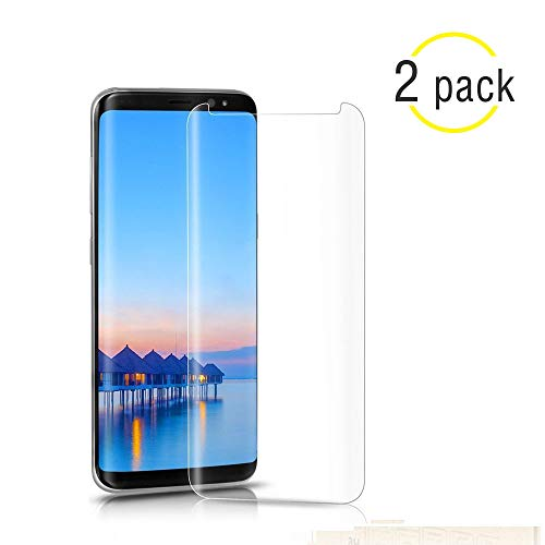 [2Pack] Samsung Galaxy S9 Tempered Glass Screen Protector, NiceFuse - 9H Hardness,Anti-Fingerprint,Ultra-Clear,Bubble Free Screen Protector for Galaxy S9 from NiceFuse