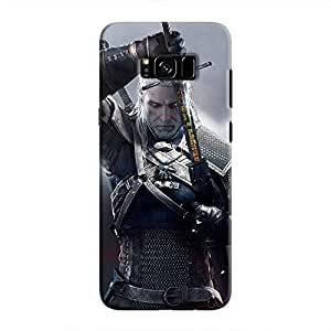 Cover It Up - Silver Witcher blade Galaxy S8 Plus Hard Case