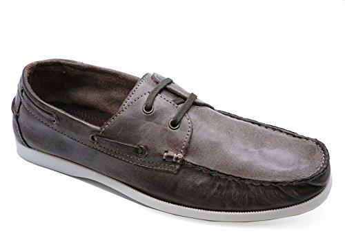 7 Pour Casual Bateau Chaussures Homme Lacets 11 Mocassins À Cuir Mocassins Conduite Pont En Tailles Confortable 46ndq