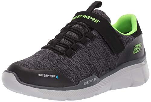 the best attitude d118f 2a7d2 Skechers Kids Boys  Equalizer 3.0 Sneaker Black Charcoal 4.5 Medium US Big  Kid