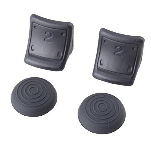 Dual Ergonomic Triggers Bonus Caps Grip Enhancements for the Sony PS3 Controller (Ps3 Controller Grip compare prices)