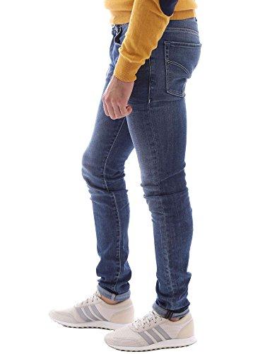 Uomo Zip Sax Gas Blu Slim Jeans wIUApqz