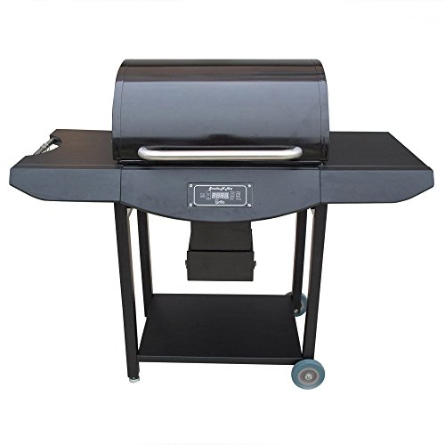 Pellet Grill Pro. Burner in Black by Tretco Wholesale