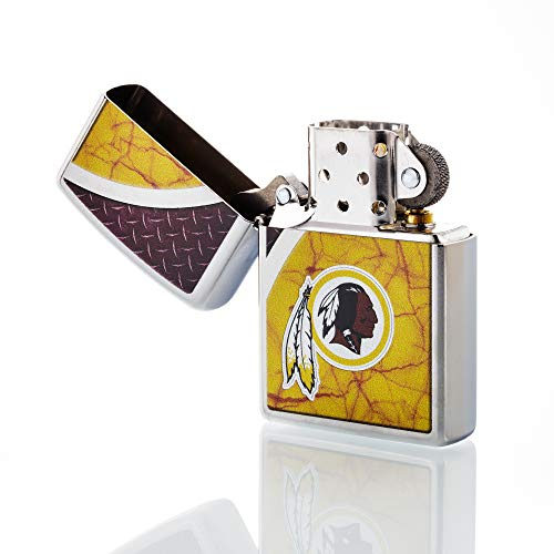 Zippo NFL Washington Redskins Refillable Lighter, Yellow, One Size