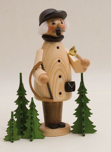 Christmas Tree Cutter German Incense Smoker Made in Erzgebirge Germany New by Pinnacle Peak Trading Company