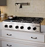 Dacor-Millennia-36-In-Stainless-Steel-Gas-Rangetop-DRT366SNG
