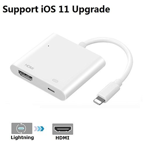 Cheap Accessories iPhone iPad to HDMI Adapter, Lightning 8-pin to HDMI Female Video Digital..