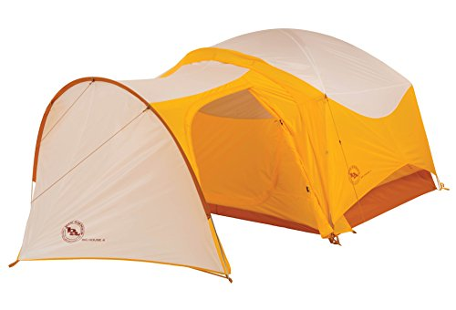 Big Agnes Big House Deluxe Tent Vestibule, Gold/White, 4 Person