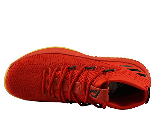 de Hirere Dame adidas Basketball Chaussures 4 Cblack Scarle Cblack Scarle Hirere Homme Rouge taAgP