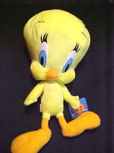 "Looney Tunes 15"" Tweety Bird Soft Plush Doll"