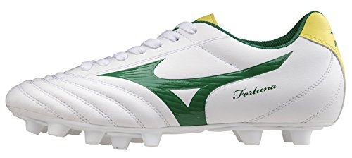 Mizuno Fortuna 4 MD p1ga158135 de Fútbol Blanco, Color Blanco, Talla 40