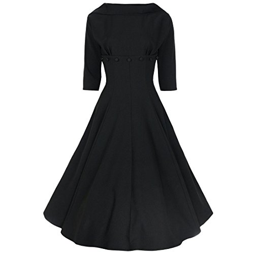 40s shirtwaist dress - 2