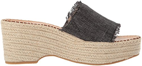 Dolce Vita Femmes Lada Espadrille Wedge Sandale Cendre Denim