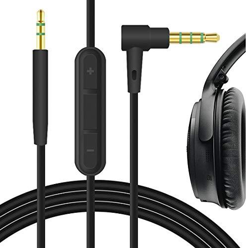 Cable de audio con micrófono  2.5mm para  Bose SoundTrue II