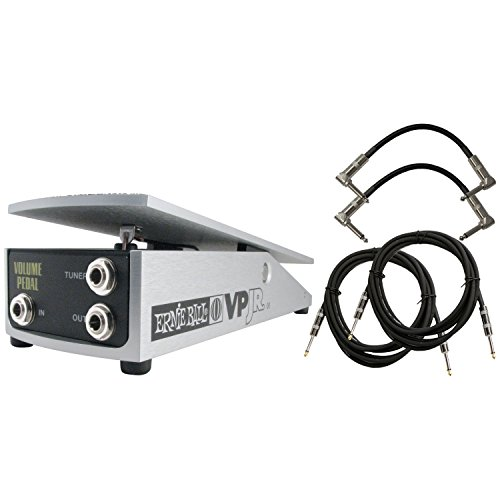 Ernie Ball 6180 VP Junior 250K Volume Pedal w/4 Free Cables