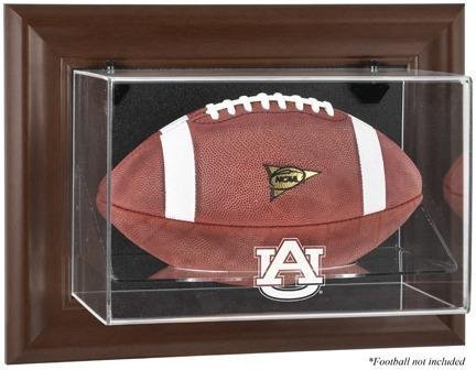 Auburn Tigers braun gerahmtes Wandbild montieren Fußball Display Fall durch montiert Erinnerungen