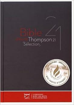 Bible d'étude Thompson 21 sélection : Couverture rigide marron