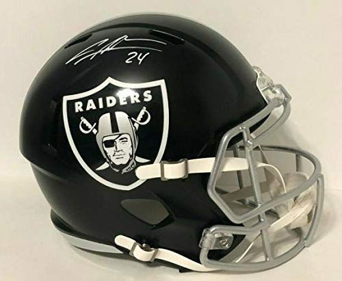 (Charles Woodson Oakland Raiders Signed Autograph RARE BLAZE Speed Full Size Helmet Steiner Sports Certified)