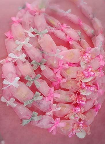 キャンディレイラメピンク3個セット (駄菓子11個入)