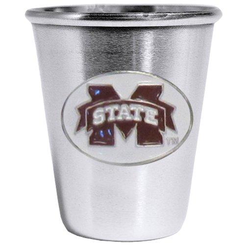 Siskiyou NCAA Mississippi State Bulldogs Steel Shot - Ncaa Glass Bulldogs Mississippi State