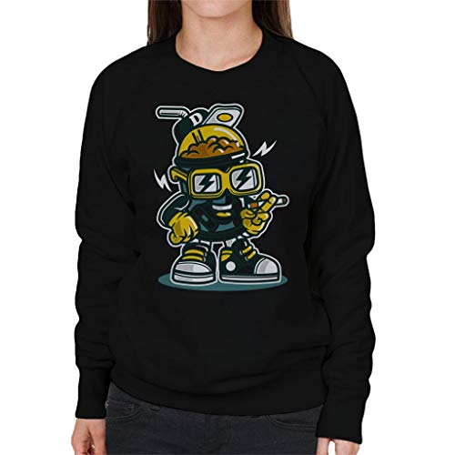 Black Sweatshirt Drink Women's Coto7 Lets ITqwSCp