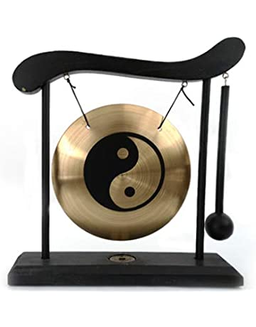 2 Paar Becken chinesische traditionelle Gong Hand Percussion für Party Band