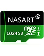 Micro SD SDXC Card 1024GB High Speed Class 10 Memory SDXC Card with SD Adapter (P)
