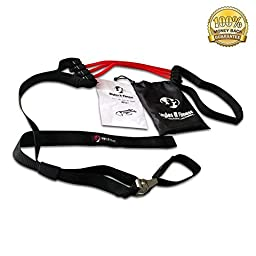 Styles II Fitness Pull-Ups Assist Band Exercise Tube Bands Best Upper Body Workout Durable come with a carrying bag and a 1 year Warranty
