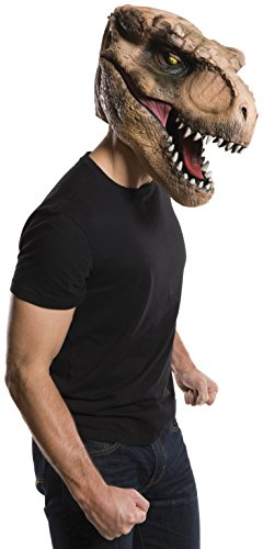 Rubie's Men's Jurassic World T-rex Overhead Mask, As As Shown, One Size -