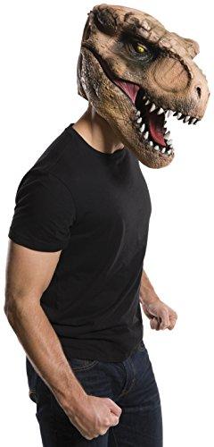 Máscara Viníl Rubies Costume Company Inc Jurassic World T Rex Multicor