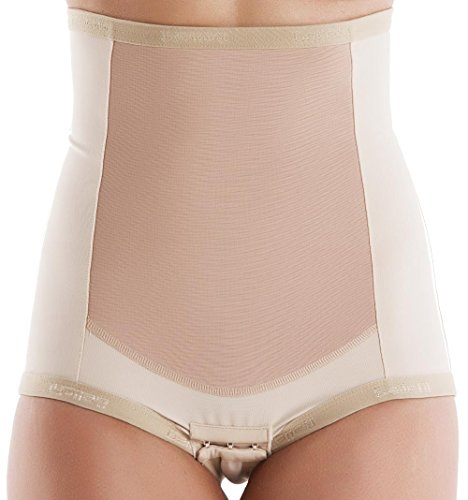 (Bellefit Postpartum Girdle Pull-Up, Medical-Grade, Compression & Support Beige)