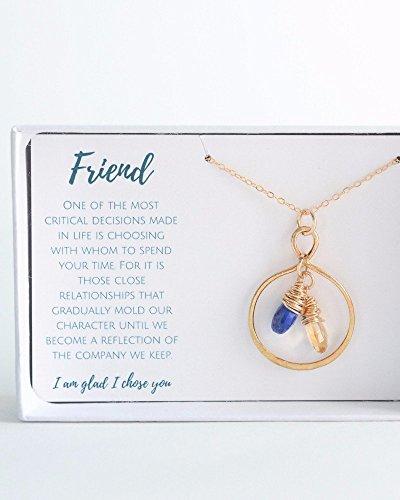 (Gold Friendship Birthstone)