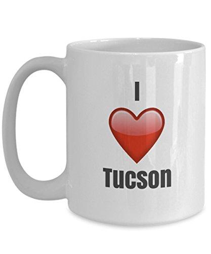 I Love Tucson unique ceramic coffee mug Gifts Idea